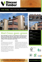 Western Red Cedar Case Study - Red Cross HQ, Worcester
