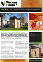 Sweet Chestnut Case Study - The Cube Project
