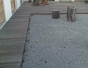 Thermo Ash Decking (Weathered) - Approx 5 years